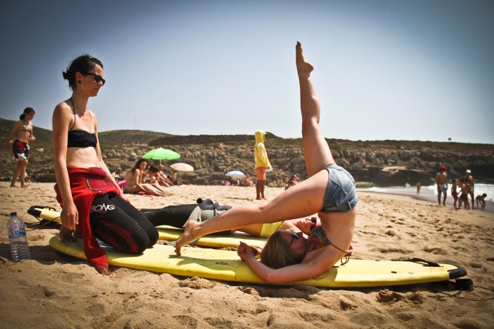 Surfing & Yoga