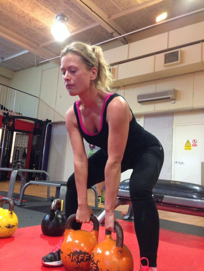 Get fit for surfing with kettlebells!