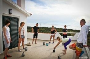 Kettlebelll workshop