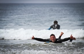 The best surfer is the one having more fun :)
