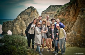 Group photo at Ponta da Piedade